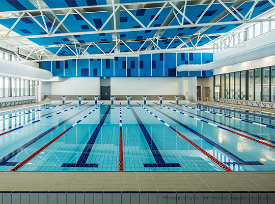 Aquatic Centre Tiles and Lining Systems