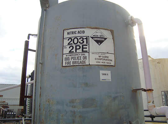 Acid Protection & Corrosion Resistance