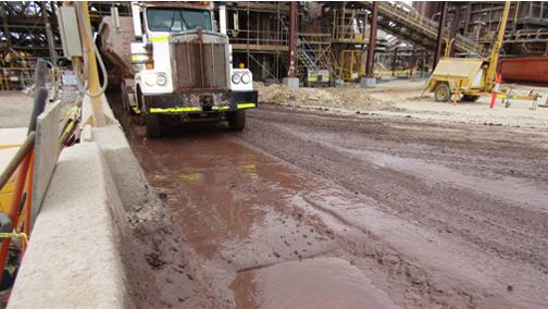 Batch Plant Roadway