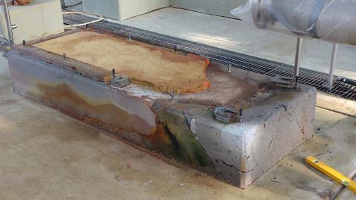 Plinth Repair - Nitric Acid Bund