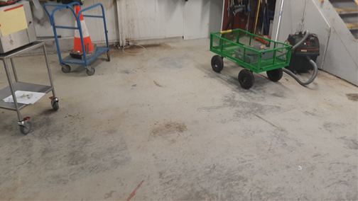 Workshop Floor - Dairy Product Manufacturer
